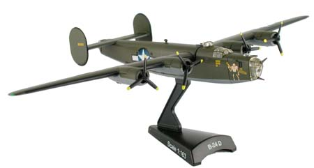 B-24D Liberator The Goon (1:163), Postage Stamp Diecast Planes Item Number MP5557