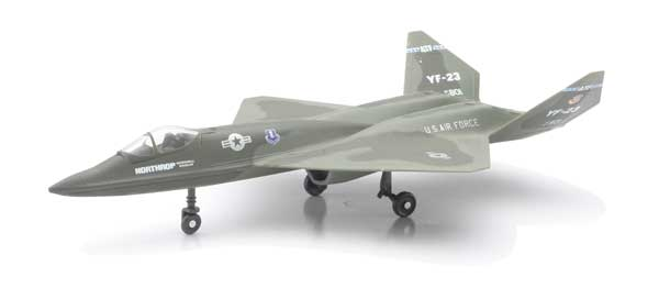YF-23 Black Widow (1:72) Easy Build Model Kit, Easy Build Toy Airplane Models Item Number IN-EZYF23
