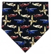 Airplane Necktie, 4 Colors - NT7806-BLA