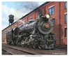 "PRR K-4  ""Pennsylvania Railroad K-4 Pacific"" (Fine Art Print), Mark Karvon Aviation Art Item Number MKNPRRK4"