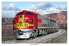 "Santa Fe RR Super Chief ""The Super Chief"" (Fine Art Print), Mark Karvon Aviation Art Item Number MKNSFCHIEF"