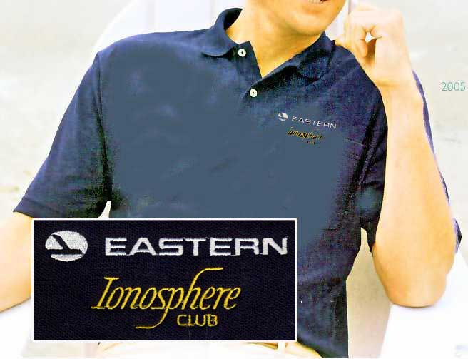 Eastern Ionosphere Club Polo, SkyShirts Item Number TS-EAPOLO