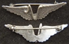 WWII V for Victory Wings Sterling Silver, Weingarten Gallery Item Number P-2198
