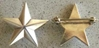 WWII One Star General Rank Sterling Silver  Clutch back General Star, WWII General, Sterling star, Sterling General Star