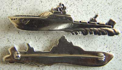 AAF Crash Boat Sterling Pin