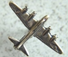 B-17 Charm Sterling, Weingarten Gallery Item Number P-146