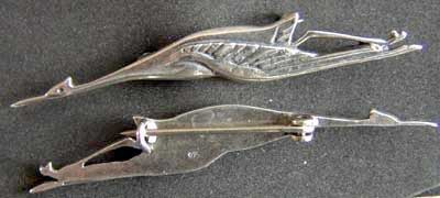 French WWI SPA 26 pilot wing sterling