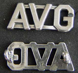 American Volunteer Group Sterling Collar