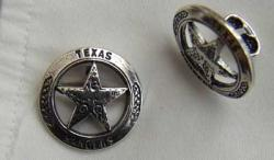 Texas Rangers Sterling Cuff Links, Weingarten Gallery Item Number P-1710CF