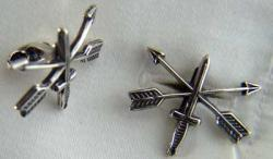 US Special Forces Cuff links Sterling Silver, Weingarten Gallery Item Number P-1728