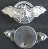 WWI French Squadron Pin BR113 Sterling
