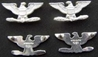 Vietnam Colonel Collar Insignia Sterling Set of three