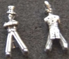 Uncle Sam Sterling Charm, Weingarten Gallery Item Number P-2089