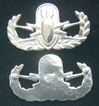 Basic EOD Badge Sterling Silver, Weingarten Gallery Item Number P-2149