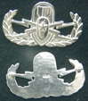 Senior EOD Badge Sterling Silver, Weingarten Gallery Item Number P-2150