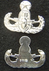 Master EOD Badge Sterling Silver, Weingarten Gallery Item Number P-2151