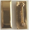 2nd Lt Rank Sterling Pin Back