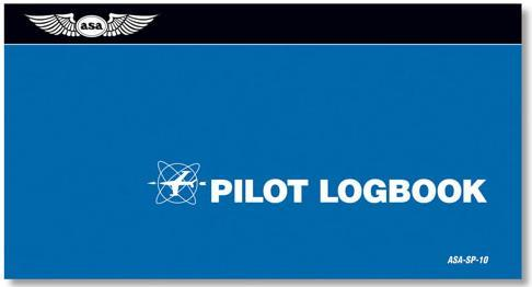 Pilots First Logbook, Aviation Supplies & Academics (ASA) Item Number SP-10