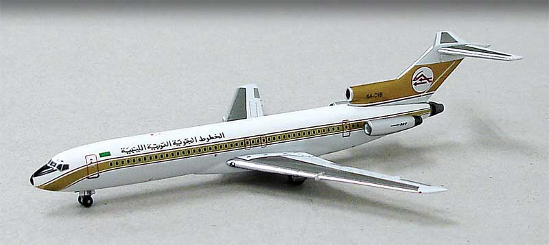 Libyan Arab Airlines 727-200 5A-DIB (1:400) NEW TOOLING!, Witty Wings 400 Item Number WTW-4-722-001