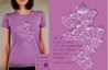 Element:Ice/Patty Wagstaff T-shirt, Women Fly Item Number TS-WFELICE
