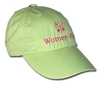 Women Fly Hat: Lime Hat/Magenta Embroidery, Women Fly Item Number HT-WFLM