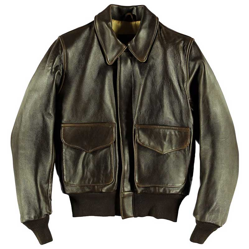 """WASP"" A-2 Flight Jacket, Cockpit/Avirex Leather Jackets Item Number W2567"