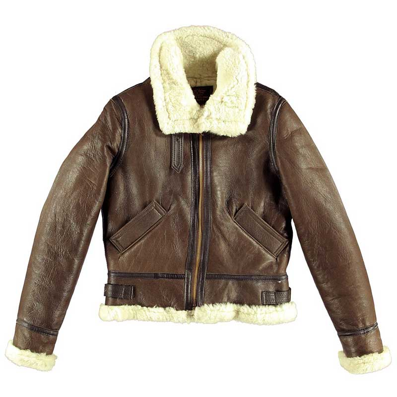 Womens B-3 Bomber, Cockpit/Avirex Leather Jackets Item Number W72N100
