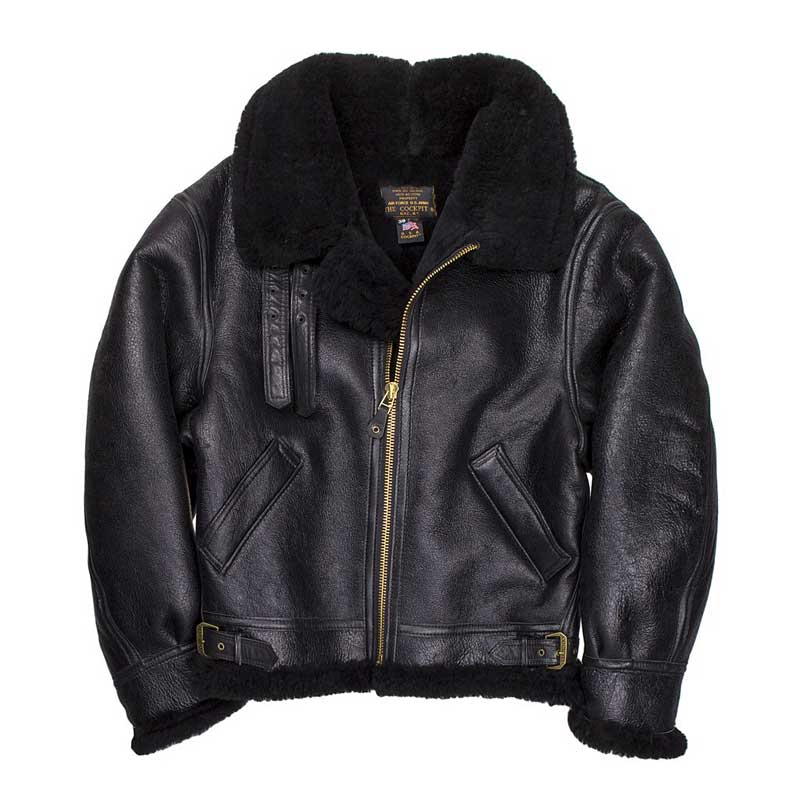 B-3, Authentic, Sheepskin, Cockpit/Avirex Leather Jackets Item Number Z2102B