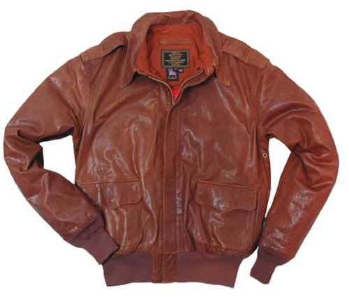 Vintage Pearl Harbor A-2 Jacket Size 46 - Clearance Item, Cockpit/Avirex Leather Jackets Item Number Z21D009-46