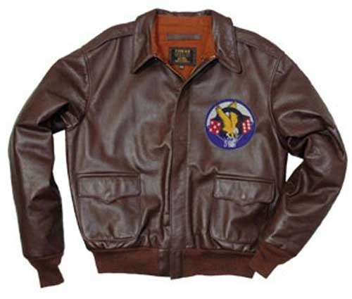 Airborne 506th Parachute Infantry Regiment a-2 Lea, Cockpit/Avirex Leather Jackets Item Number Z21E004