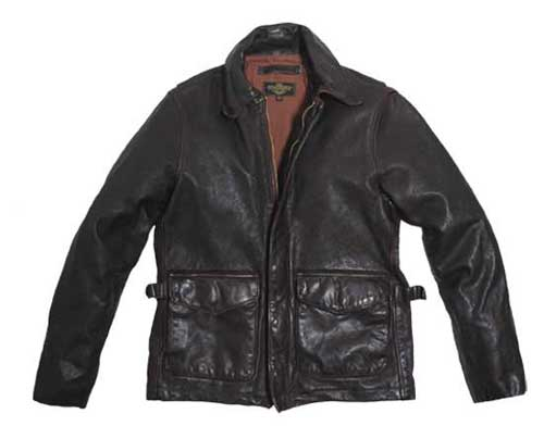 Vintage Roughneck Oil Driller Jacket 2XL - Clearance Item, Cockpit/Avirex Leather Jackets Item Number Z21F008-2XL