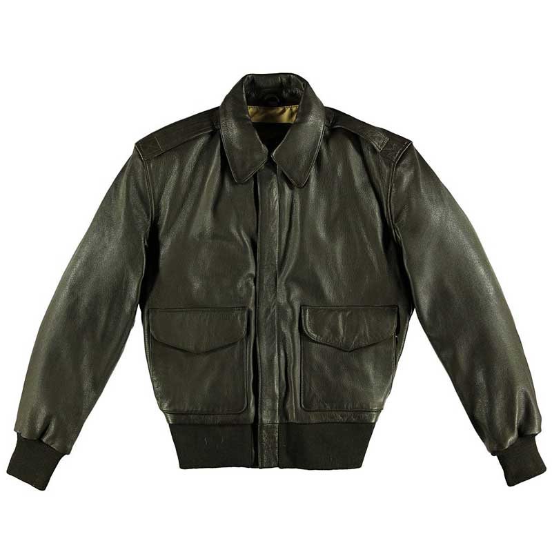 Mil Spec Goat A-2 w/ special edition lining, Cockpit/Avirex Leather Jackets Item Number Z21K007