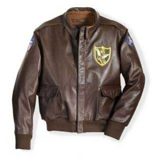 Flying Tigers 23rd Fighter Group Jacket, Cockpit/Avirex Leather Jackets Item Number Z21V60