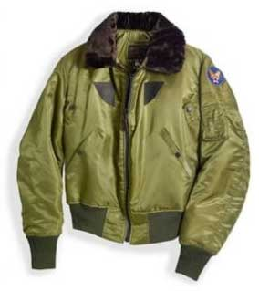 B-15 1943 Replica Issue Jacket (USA) Large - Clearance Item, Cockpit/Avirex Leather Jackets Item Number Z2213-LAR