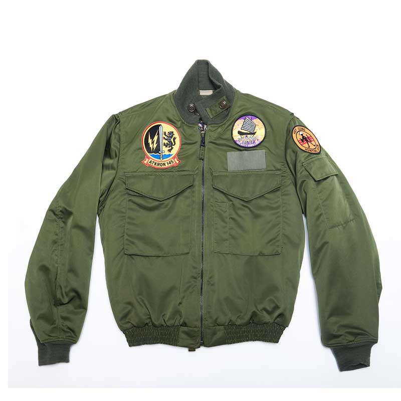WEP jacket with Patches