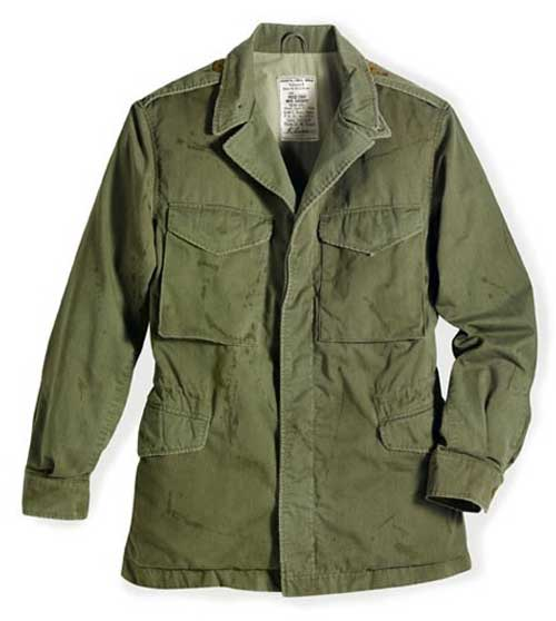 "M-43 ""Cockpit Omaha Beach"" Field Jacket , Cockpit/Avirex Leather Jackets Item Number Z26A006C"