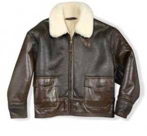 AN-J-4 Cold Weather Shearling Jacket, Cockpit/Avirex Leather Jackets Item Number Z42633
