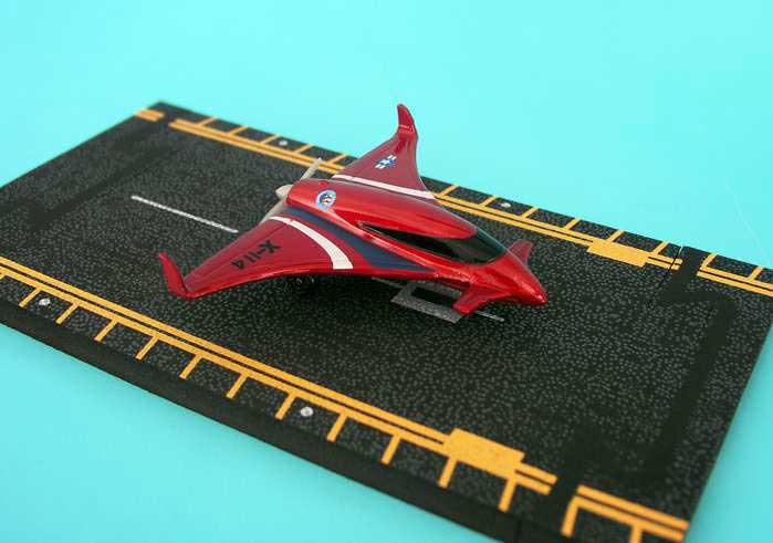 "X-114 Pusher (Approx. 5""), Hot Wings Toy Airplanes Item Number HW12111"