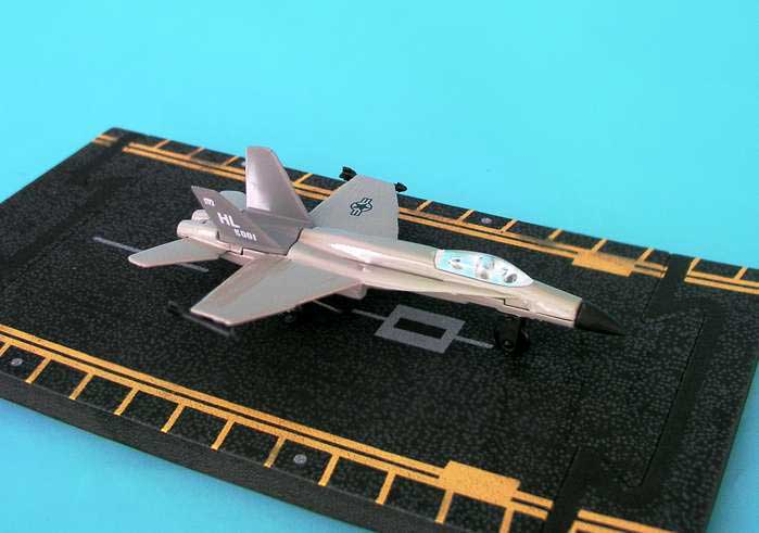"Wings F-18 (With military Markings) (Approx. 5""), Hot Wings Toy Airplanes Item Number HW14112"