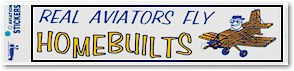 Homebuilts Bumper Sticker