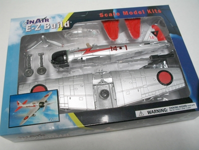 Zero Fighter (1:72) Easy Build Model Kit, Easy Build Toy Airplane Models Item Number IN-EZZERO