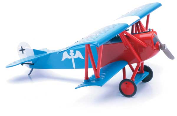 Fokker D.VII (1:48) Easy Build Model, Easy Build Toy Airplane Models Item Number IN-EZDVII