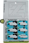 ZuluCard - VFR Weather Minimums, Zulu Airplane Kneeboards Item Number ZBL4-001