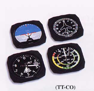 Traditional Instrument Coasters, Trintec Item Number TT-CO