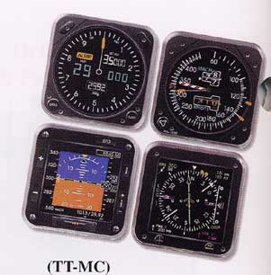 Modern Instrument Coasters, Trintec Item Number TT-MC