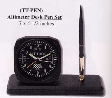Altimeter Desk Pen Set