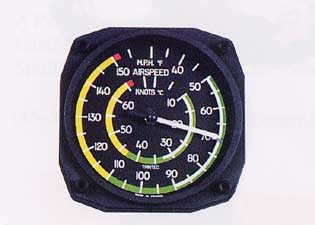 Air Speed Indicator Thermometer