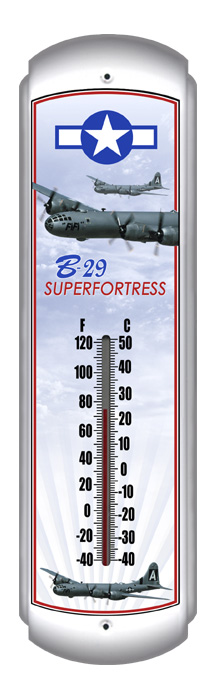 B-29 Superfortress Thermometer (17 inch x 5 inch)