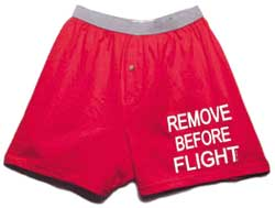 Remove Before Flight Boxer Shorts, Born Aviation Aviation Gifts Item Number BX-RM
