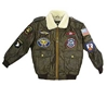 Youth A-4 Flight Jacket (White Collar), FlightLine Item Number FJ-Youth